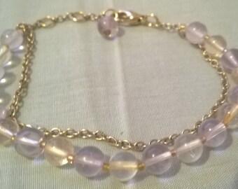 Ametrine inspired Bracelet
