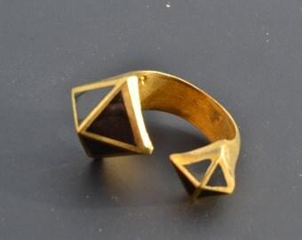 gold rings/adjustable/brass/boho rings/bohemian