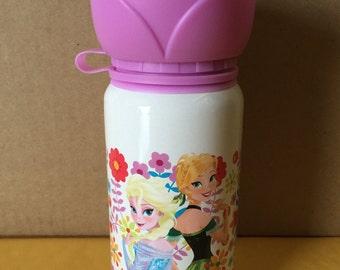 Disney Frozen Personalized Kids Aluminum Water Bottle