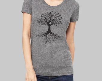 Tree of Life, Tree of Life Tshirt - tree shirt, graphic tees for women, screen print, cool t shirts, womens tshirts, graphic tee
