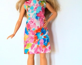 Dress for Barbie Size Doll including Curvy and Tall