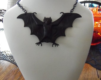 Cute bat necklace