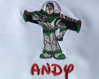 Buzz Lightyear, Buzz Lightyear Shirt, Buzz Lightyear Birthday Shirt, Toy Story, Toy Story Shirt, Toy Story Party, Personalized, Embroidered