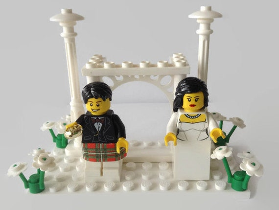 wedding cake toppers funny kilt items similar to wedding cake topper gift customised 26474