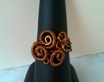 SALE - S - 154 wirework ring