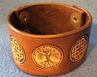 Tree of Life Celtic Cuff