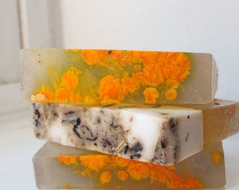 Tropical Peach Organic Goats Milk Soap