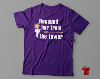 disney shirts / disney couple shirts / family disney shirts / disney tangled shirts / disney tower shirts / best day ever / left my tower