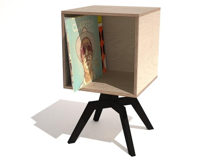 Lp Vinyl Record Storage Cube. Yarn Catcher By The Bagsmith Canvas Yarn Storage  Cube