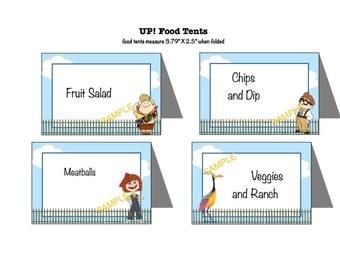 Disney Pixar UP! Food Tents