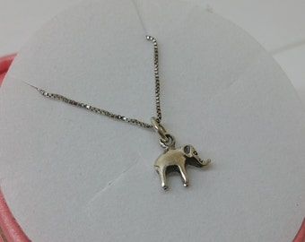 Elephant charm 925 Silver Pendant SK918