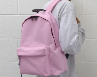 Minimalist Backpack Pink
