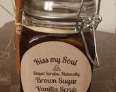 Brown Sugar Graham Sugar Scrub
