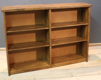 Book Case, Handmade Rustic (The Harvenden)