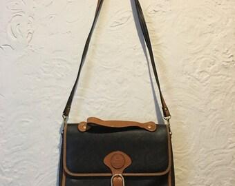 Vintage Bag- Vintage Vinyl Pierre Balmain Crossbody Bag