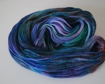 Mermaid Cove on Superwash Bulky – Hand Dyed Yarn
