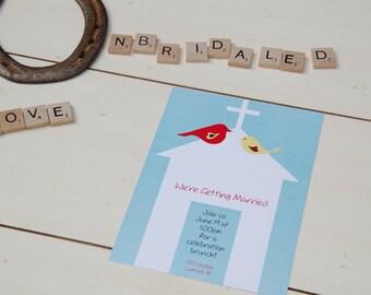 Love Birds Invite