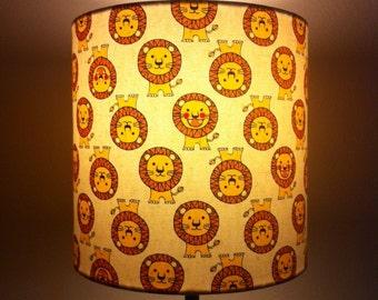lampshade - li'l lions