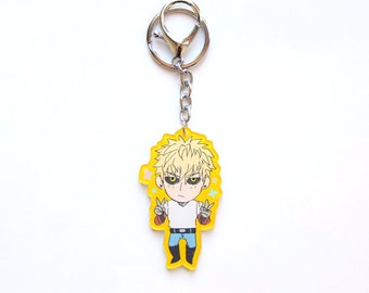 One punch man Genos Charm