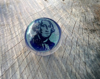 George Washington Dichroic Hat Pin!