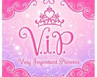 Disney Princess ''Very Important Princess'' Favor Bags 8ct