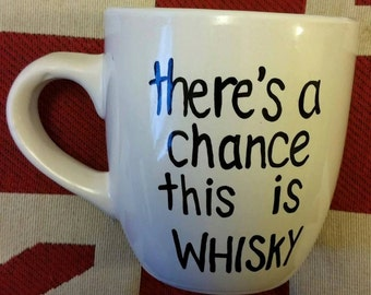 There's a chance this is Whisky/Gin/Wine/Vodka MUG