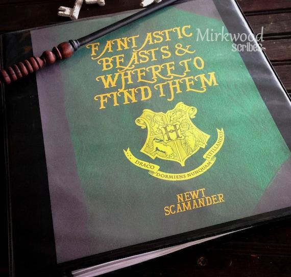 Harry Potter Hogwarts Book Cover : Harry potter binder covers book hogwarts