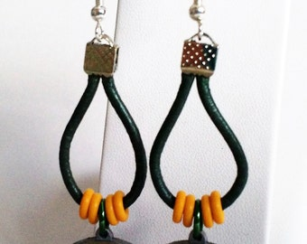 Hail Mary Green Bay Packers Earrings