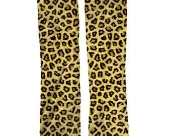 Cheetah Print socks