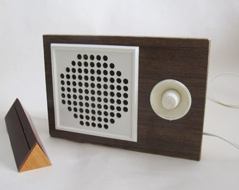 Retro Radio Speaker subscriber, Soviet State Radio, Vintage Home Radio, Old Audio made in USSR, Country Home Decor