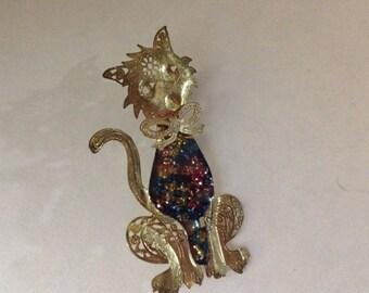 Vintage Opera Cat