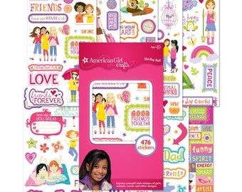 American Girl Crafts Sticker Pad 2