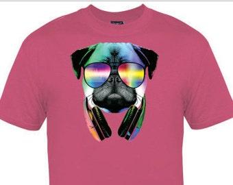 Kids DJ Pug Shirt