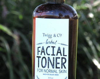 Twigg&Co. Facial Toner for Normal Skin 8oz