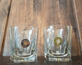 SALE! Handmade Pentagon Bullet Whiskey Glass 12GA  Winchester or Remington, Whiskey Glasses Bullet Glasses Bullet Home Bar Decor Fathers Day
