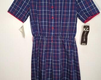 Vintage Deadstock K.C Petites Nordstrom Dress // Size 12 // Free Shipping