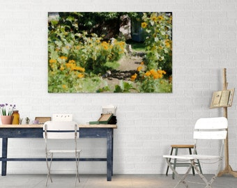 Garden impressions 02 canvas