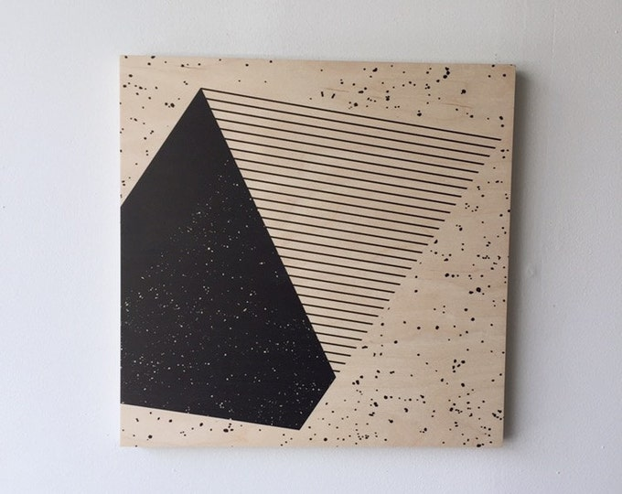 PARALLELOGRAM wood art print