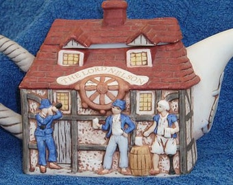 Lord Nelson Pub Teapot