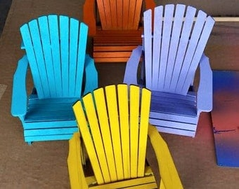 Adirondack Chair Cell Phone Stand