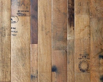 Coopersmark Wine Barrel Flooring 12sf