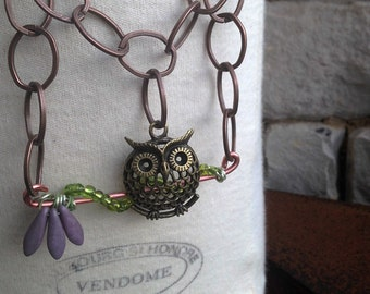 Owl Be Necklace