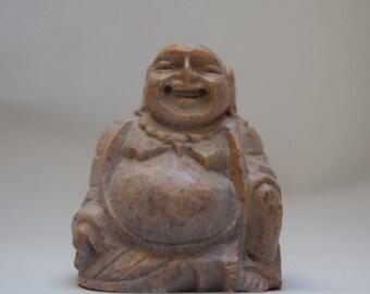 Buddha, small soapstone statue