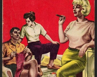 Abnormals Anonynmous retro pulp paperback cover print