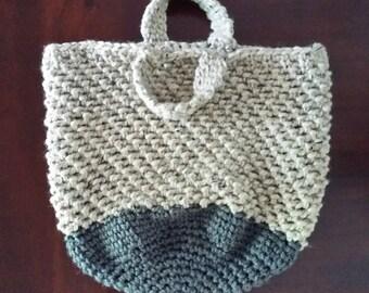 Crochet Tote Bag, Market Bag, Crochet Beach Bag, Overnight Bag, diaper bag