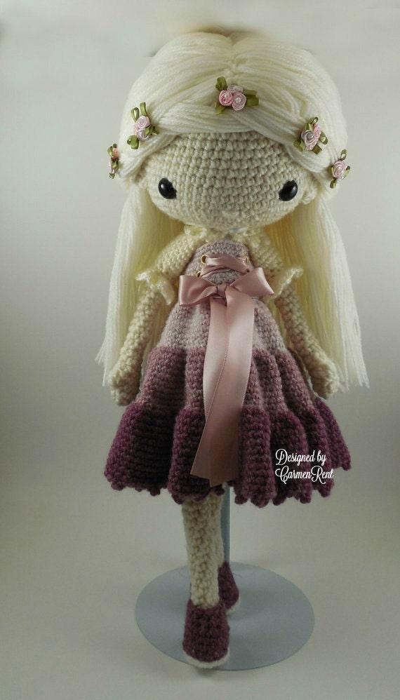 Victoria Amigurumi Doll Crochet Pattern Pdf