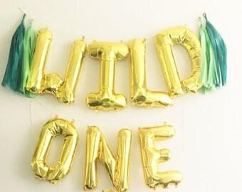 Wild One Balloon // Wild One Birthday // First Birthday Boy // Where the Wild Things Are Birthday // Wild One Balloons // Tassels