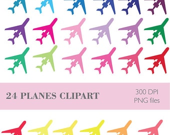 Plane Clipart, Airplanes Clipart, Planes Icons, Airplanes Icons Download, Plane Sticker Clipart, Sticker Graphics, Transport Clipart