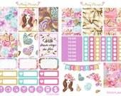 Butterfly Lover Weekly Planner Sticker Kit for Erin Condren, Happy Planner, Filofax, Kikki K etc