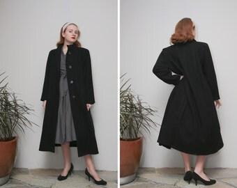 Vintage Andrea Marin New York/Womens Jacket/Black Wool